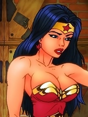 Wonder Woman has bondage sex with Batman!